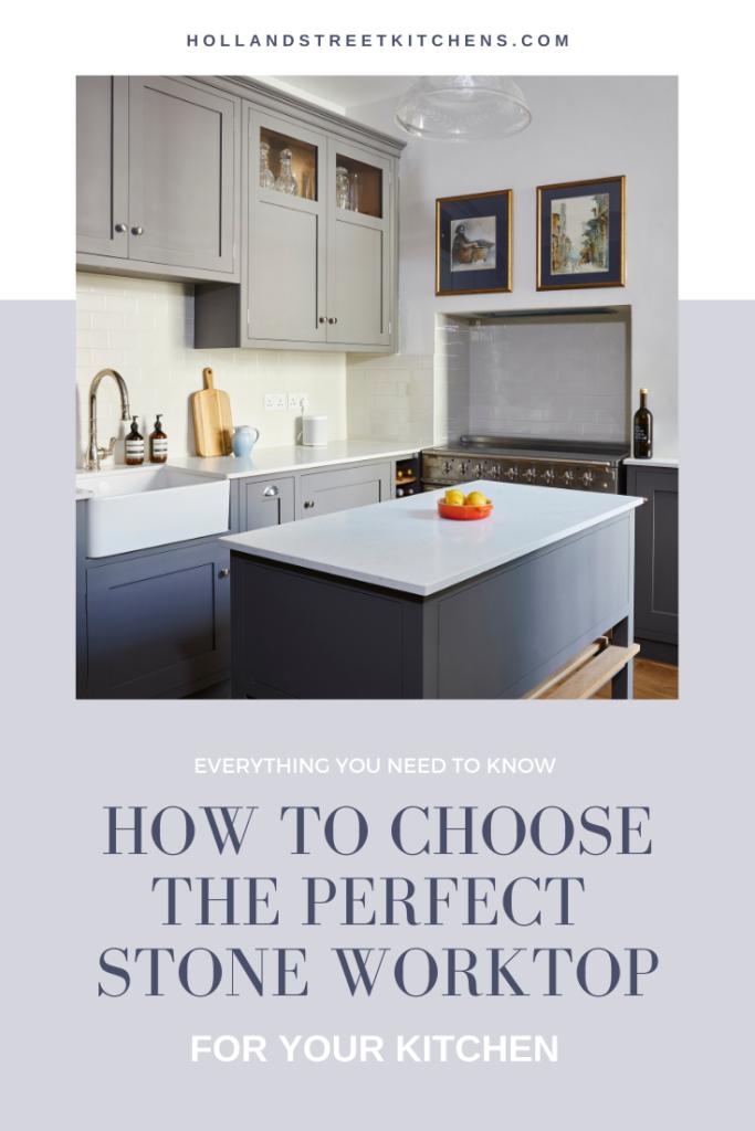 Stone kitchen worktop guide